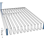 AAG100 Band Frame