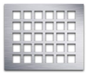 AAG700 Lattice Aluminum perforated metal grille