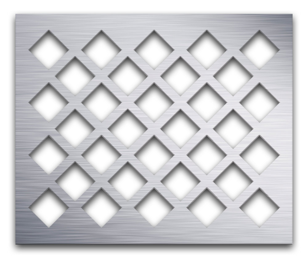 AAG701 Perforated Metal Grilles in Aluminum