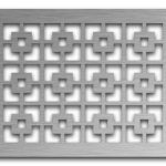 AAG702 Perforated Metal Grilles in Stainless Steel & Steel