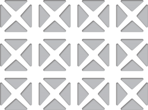 AAG703 Maltese Perforated Metal Grilles Pattern