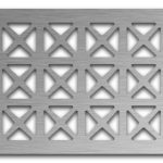 AAG703 Perforated Metal Grilles in Stainless Steel & Steel