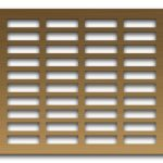 AAG704 Perforated Metal Grilles in Bronze & Brass