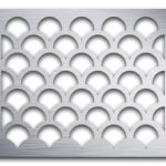 AAG706 Perforated Metal Grilles in Aluminum