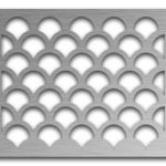 AAG706 Perforated Metal Grilles in Stainless Steel & Steel
