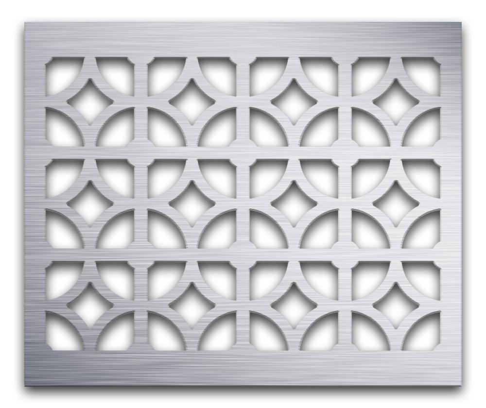 AAG708 Perforated Metal Grilles in Aluminum