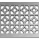 AAG708 Perforated Metal Grilles in Stainless Steel & Steel
