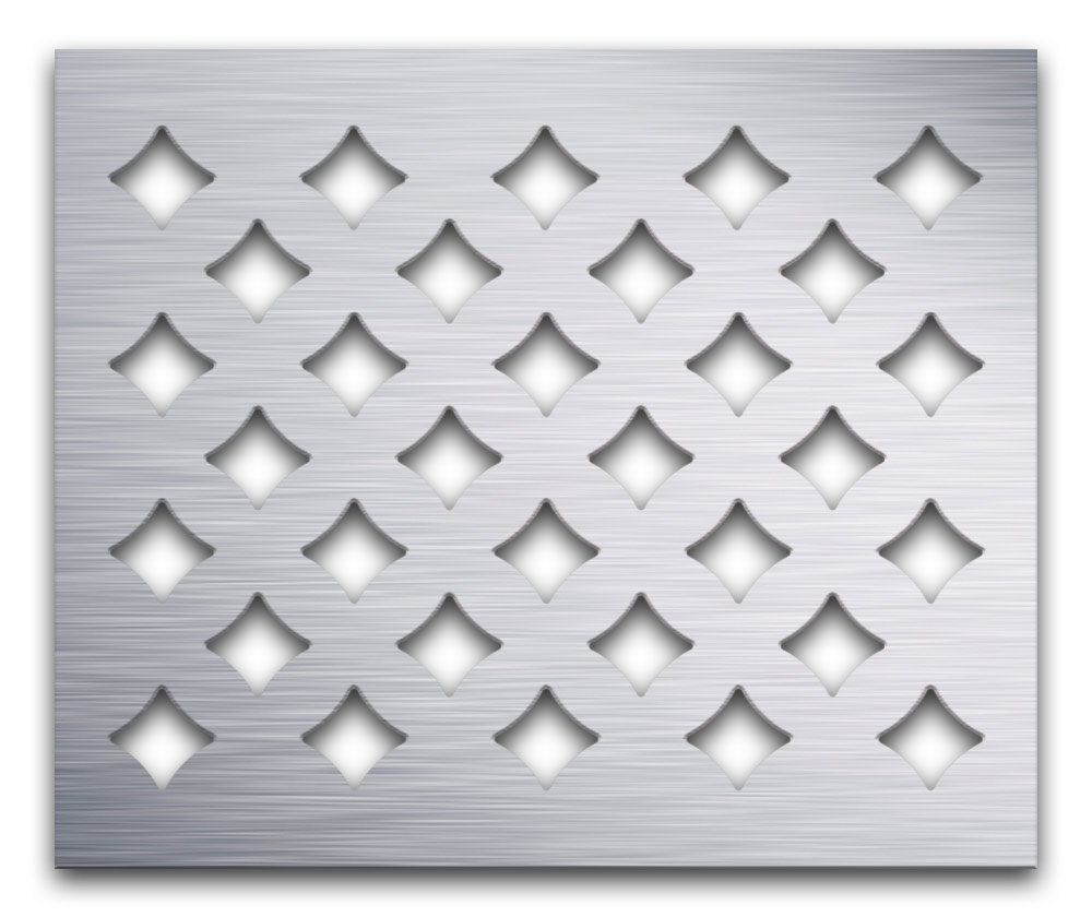 AAG710 Perforated Metal Grilles in Aluminum