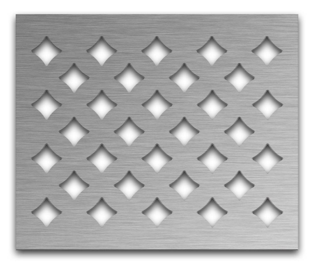 AAG710 Perforated Metal Grilles in Stainless Steel & Steel