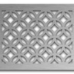 AAG712 Perforated Metal Grilles in Stainless Steel & Steel