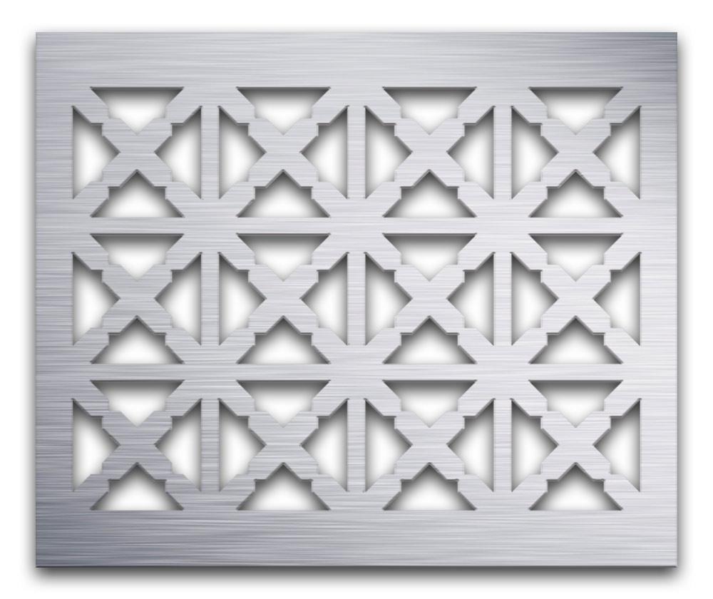 AAG713 Perforated Metal Grilles in Aluminum