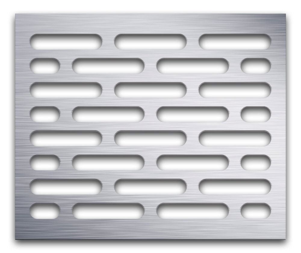 AAG714 Perforated Metal Grilles in Aluminum