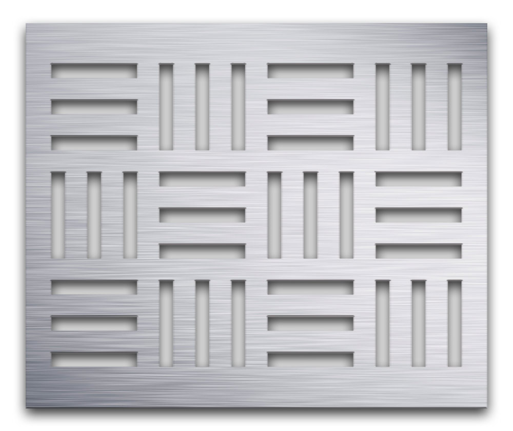 AAG715 Perforated Metal Grilles in Aluminum