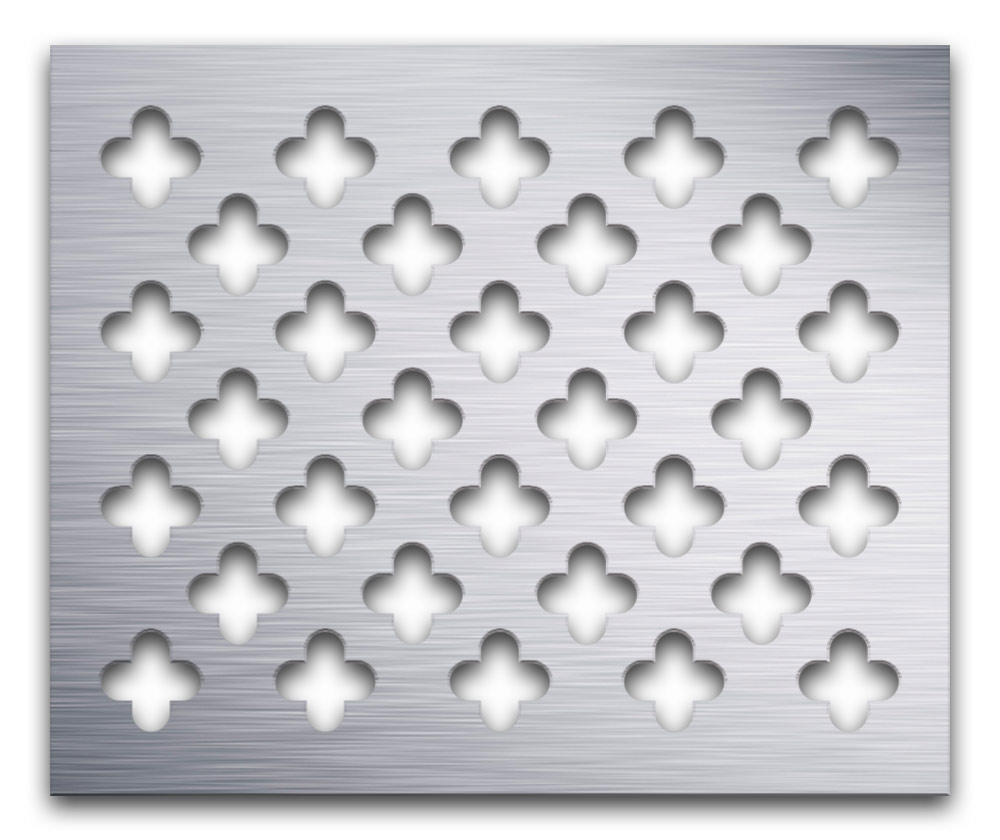 AAG717 Perforated Metal Grilles in Aluminum