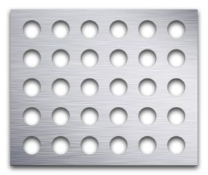AAG720 Perforated Metal Grilles in Aluminum