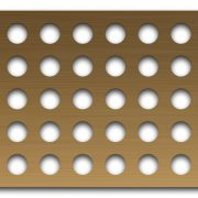AAG720 Perforated Metal Grilles in Bronze & Brass