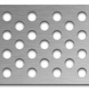 AAG721 Perforated Metal Grilles in Stainless Steel & Steel