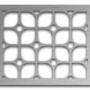 AAG722 Perforated Metal Grilles in Stainless Steel & Steel