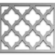 AAG723 Perforated Metal Grilles in Stainless Steel & Steel