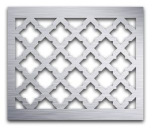 AAG724 Perforated Metal Grilles in Aluminum