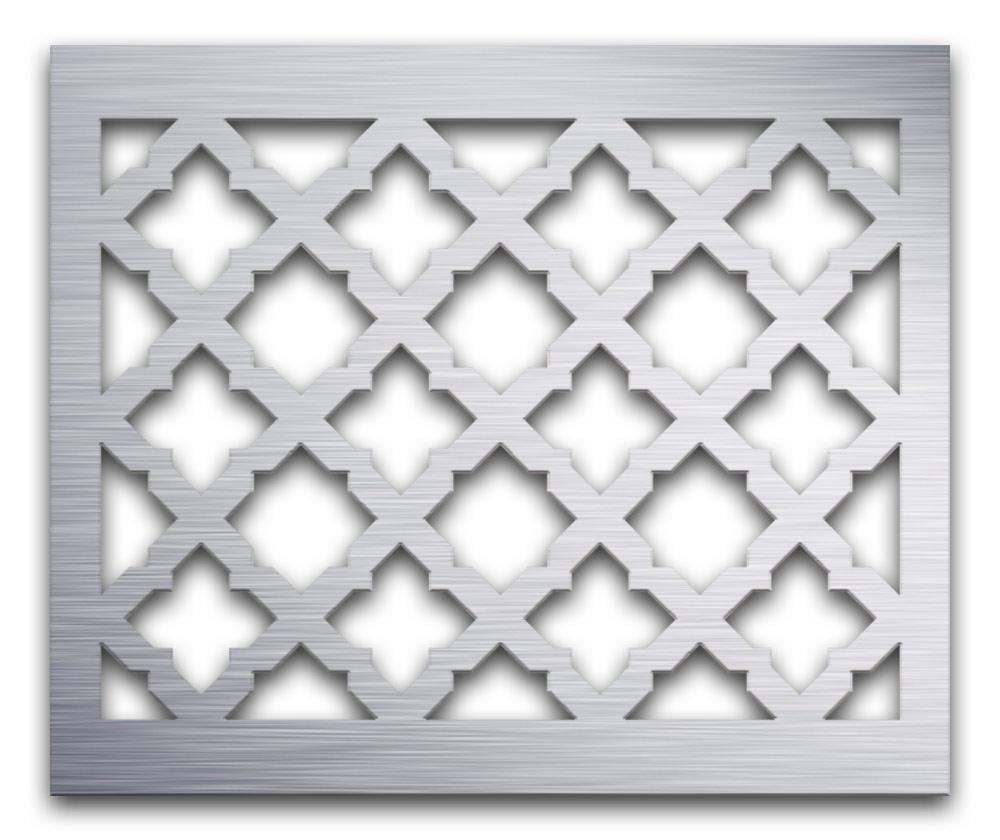 AAG724 Perforated Metal Grilles in Aluminum