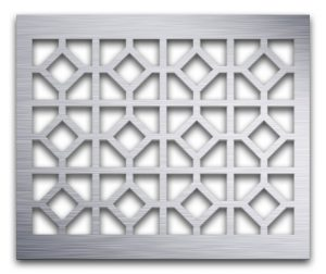 AAG726 Perforated Metal Grilles in Aluminum