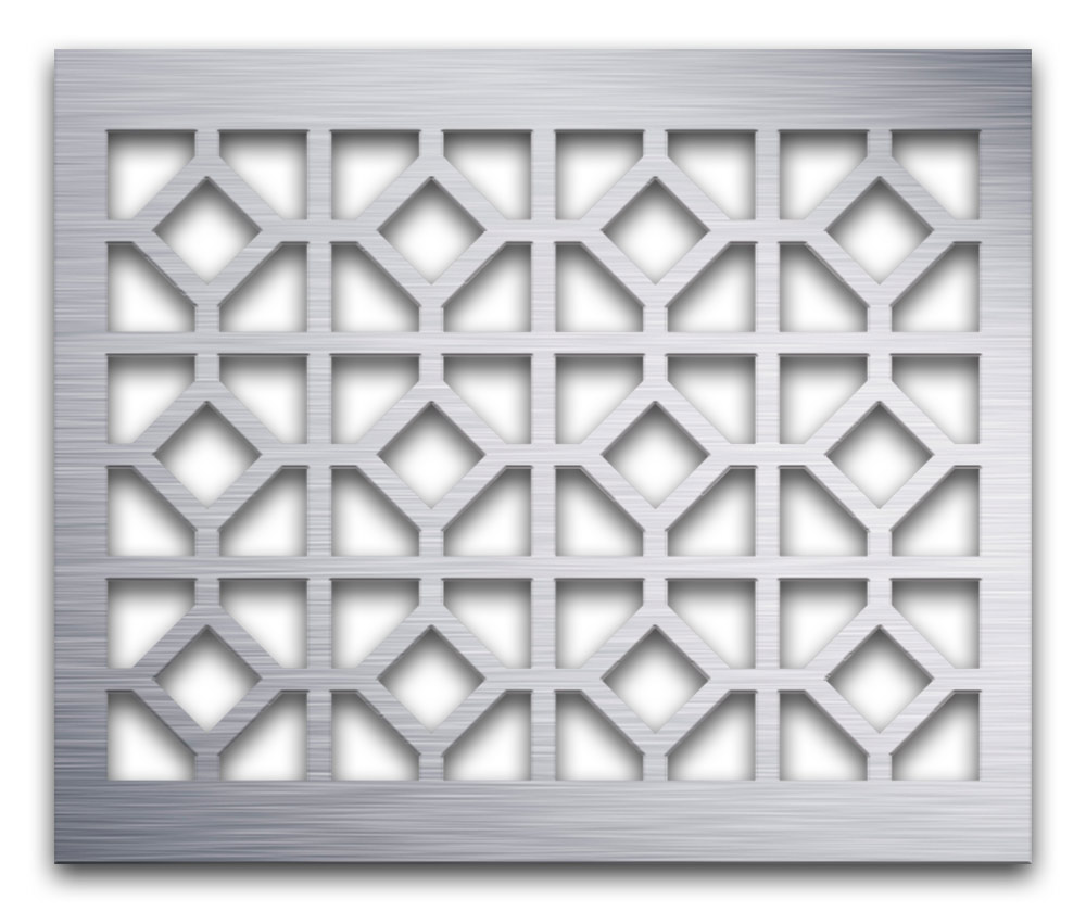 AAG726 Perforated Metal Grilles in Aluminum