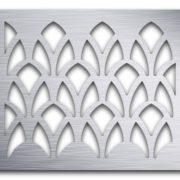 AAG727 Perforated Metal Grilles in Aluminum