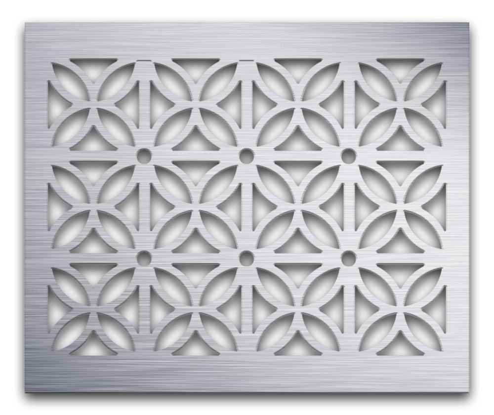 AAG728 Perforated Metal Grilles in Aluminum