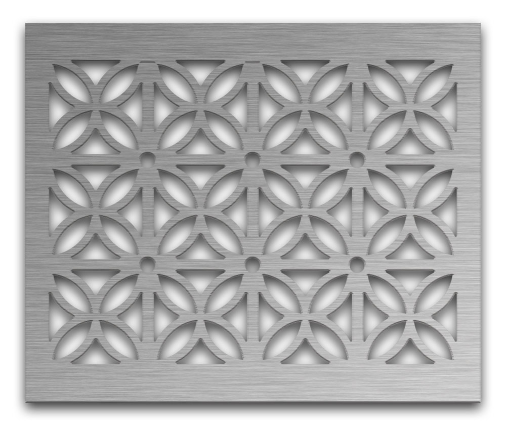 AAG728 Perforated Metal Grilles in Stainless Steel & Steel