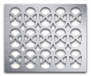 AAG732 Perforated Metal Grilles in Aluminum