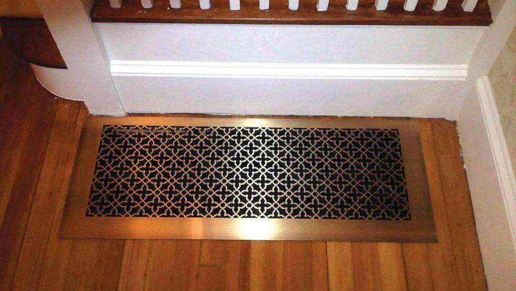 custom perforated metal grilles