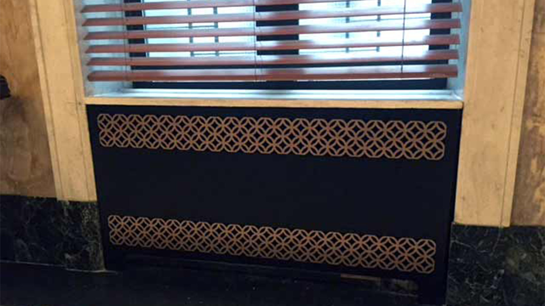 AAG712 Circle link perforated metal grilles