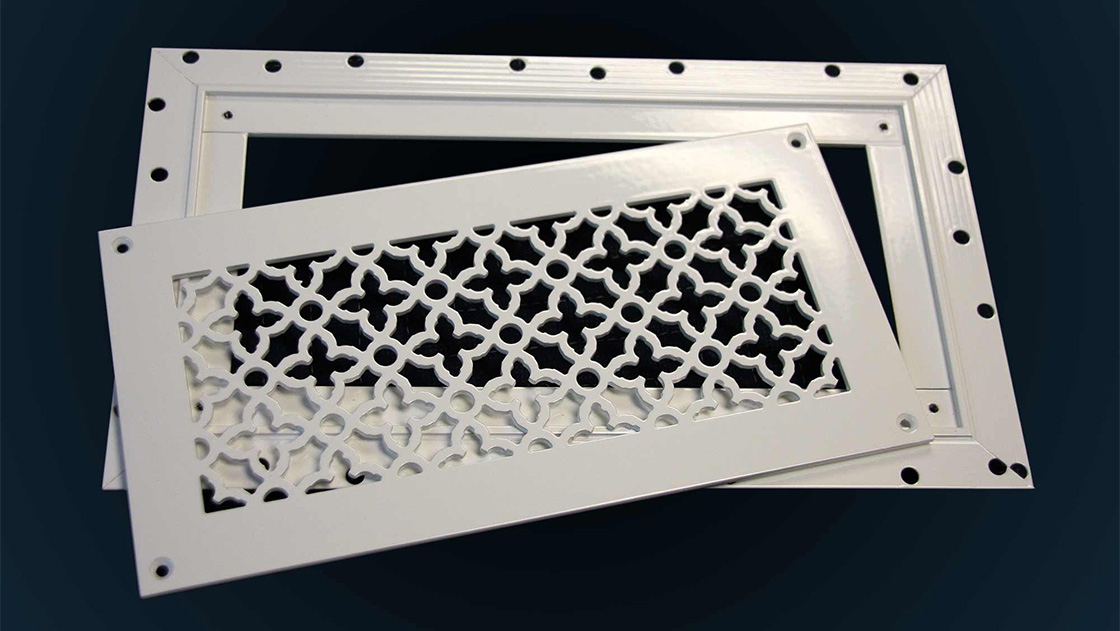 JBead Frame Perforated Grille