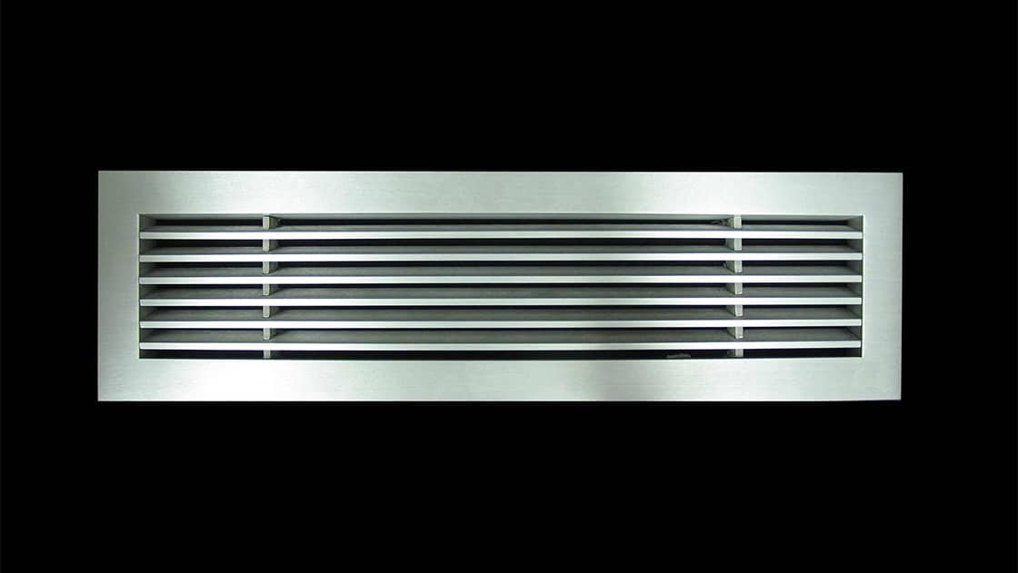aag400 Linear Bar Grille B Frame