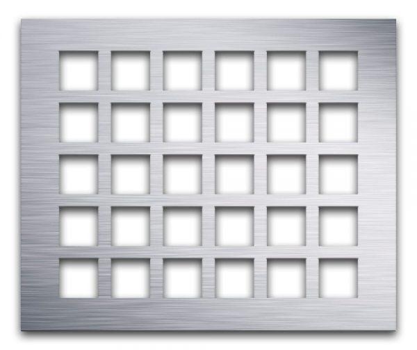 AAG700 Lattice Aluminum perforated metal grille