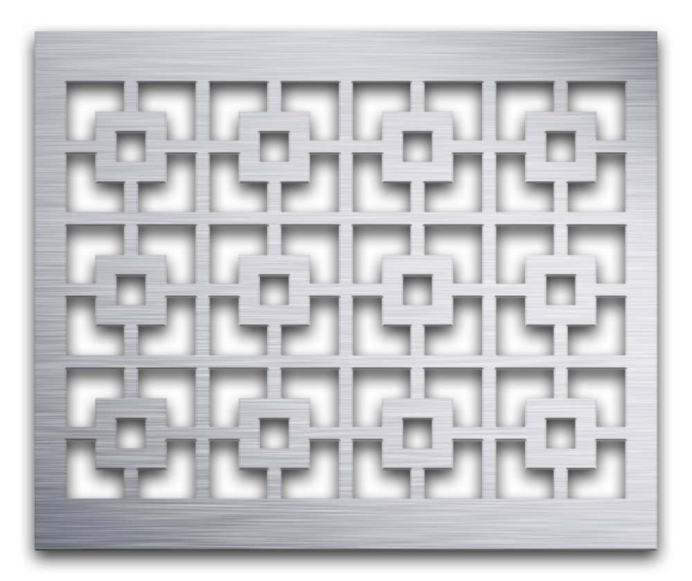 AAG702 Perforated Metal Grilles in Aluminum