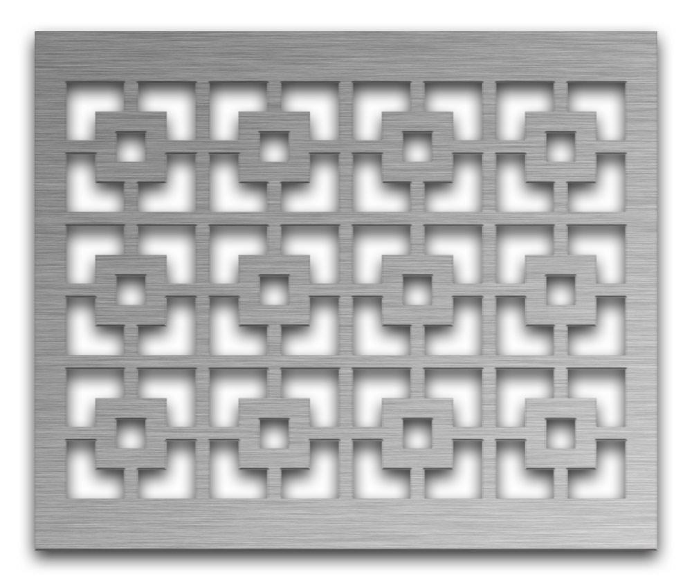 AAG702 Perforated Metal Grilles in Stainless Steel & Steel