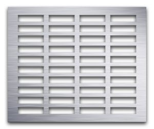 AAG704 Perforated Metal Grilles in Aluminum