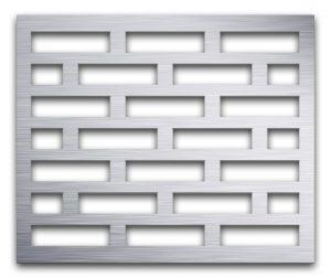 AAG705 Perforated Metal Grilles in Aluminum