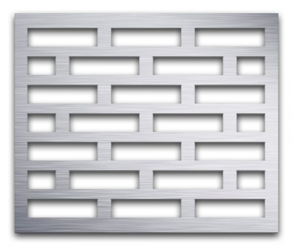 AAG705 Perforated Metal Grilles in Aluminum