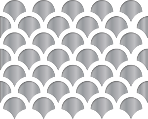 Custom Period-Matched Perforated Grille Pattern