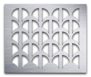 AAG707 Perforated Metal Grilles in Aluminum