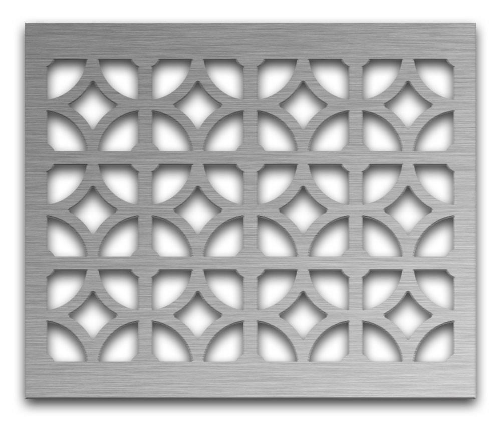 AAG708 Perforated Metal Grilles in Stainless Steel & Steel