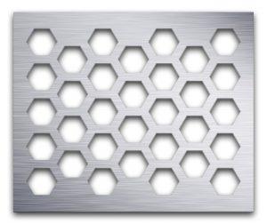 AAG711 Perforated Metal Grilles in Aluminum