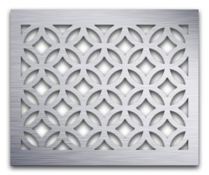 AAG712 Perforated Metal Grilles in Aluminum