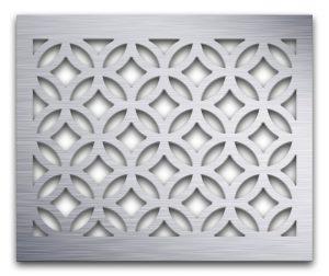AAG712 Perforated Metal Grilles in Aluminum
