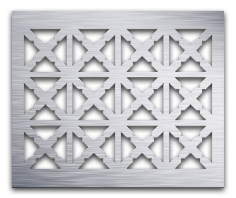 AAG713 Perforated Metal Grilles in Aluminum