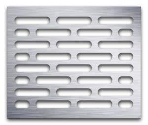 AAG714 Perforated Metal Grilles in Aluminum