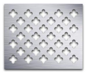 AAG717 Perforated Metal Grilles in Aluminum